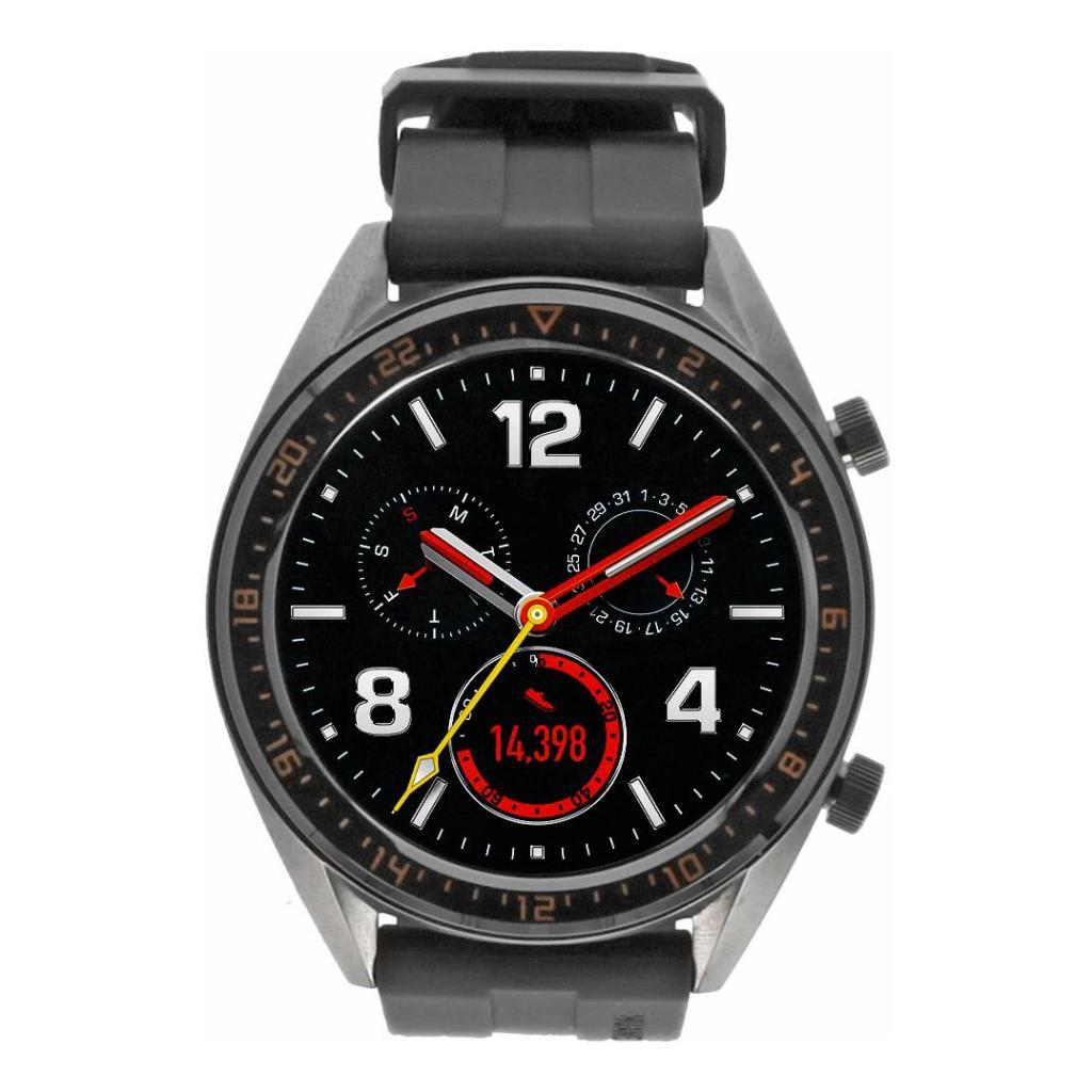 Huawei Watch GT Active gris con pulsera de silicona verde gris - nuevo
