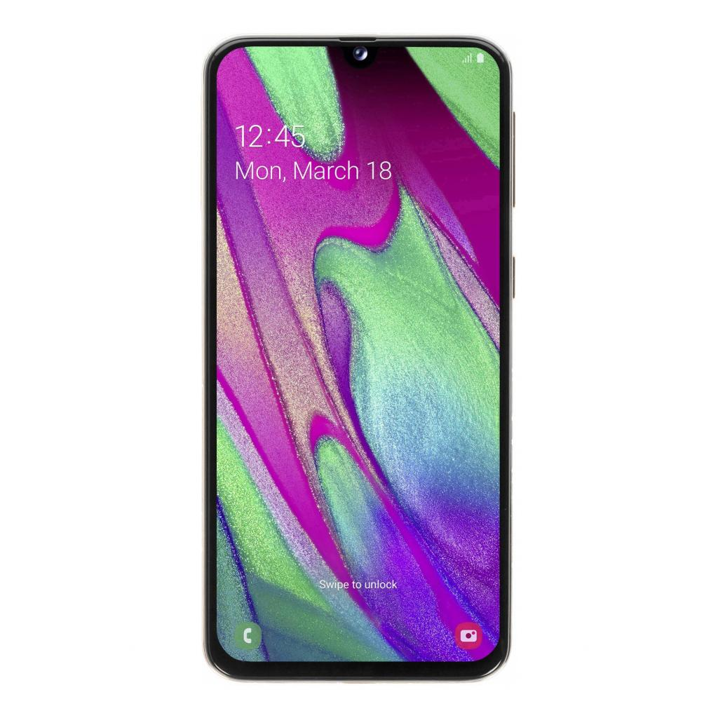 Samsung Galaxy A40 Duos (A405FN/DS) 64GB koralle - gut