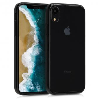 kwmobile Hard Case für Apple iPhone XR (46926.01) schwarz - gut