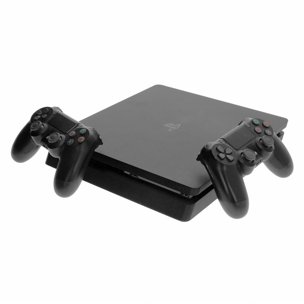 Sony Playstation 4 Slim - 500GB - incl. 2 Controller (9848660) negro - muy bueno
