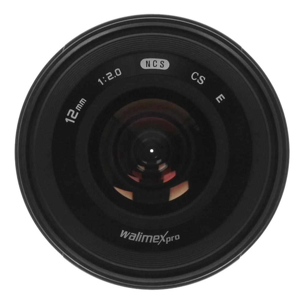Walimex Pro 12mm 2.0 CSC pour Sony E (20155) noir - Neuf