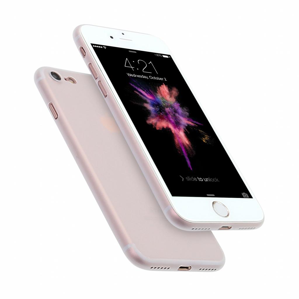 Hard Case für Apple iPhone 7 / 8 / SE (2020) -ID16987 weiß/durchsichtig - neu