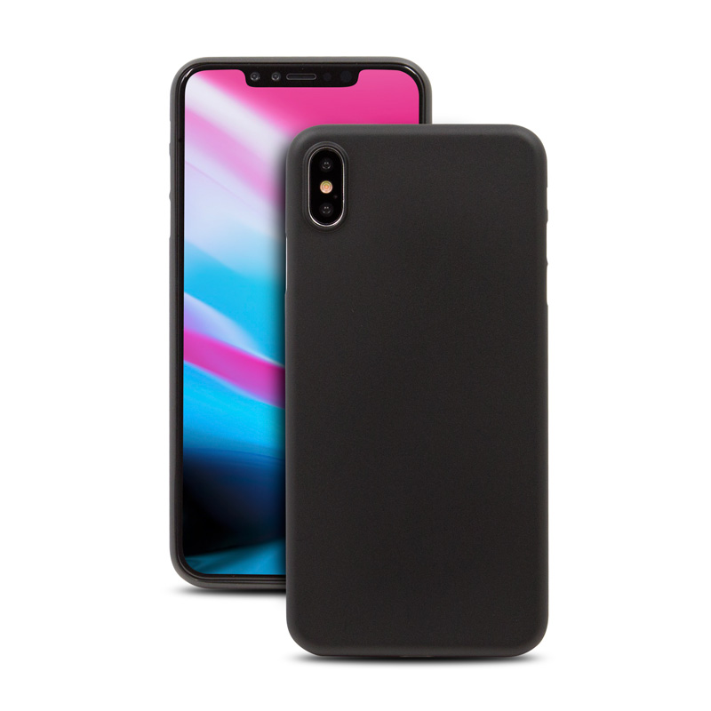 Hard Case für Apple iPhone XS -ID17009 schwarz - gut