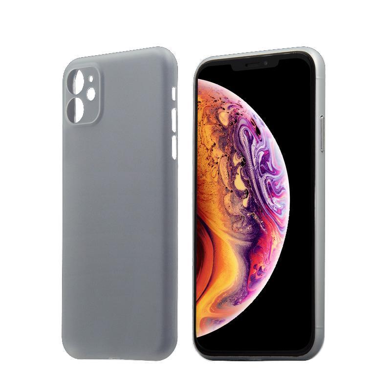 Hard Case für Apple iPhone 11 -ID17023 weiß/durchsichtig - neu