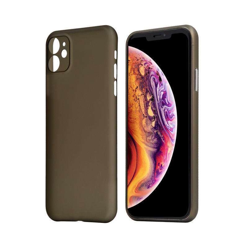 Hard Case für Apple iPhone 11 -ID17024 schwarz/durchsichtig - neu