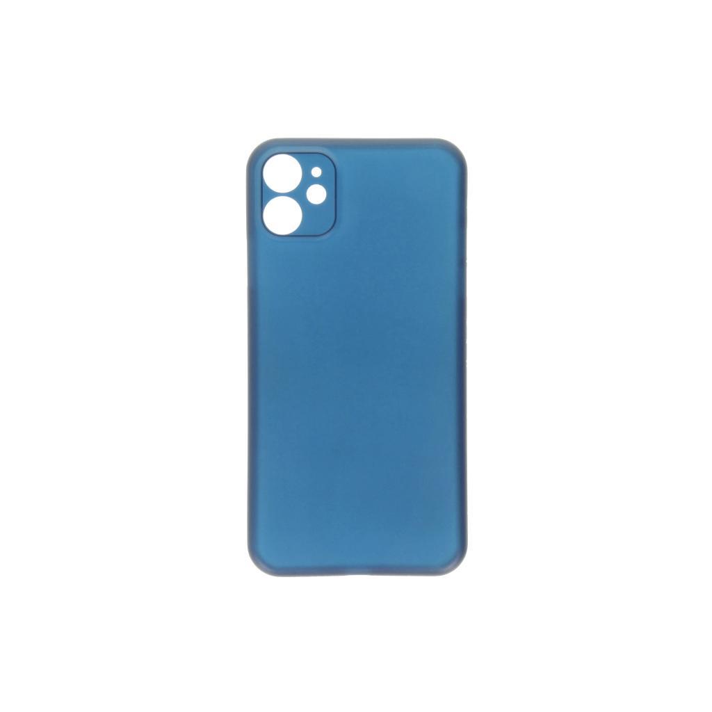 Hard Case für Apple iPhone 11 -ID17025 blau/durchsichtig - neu