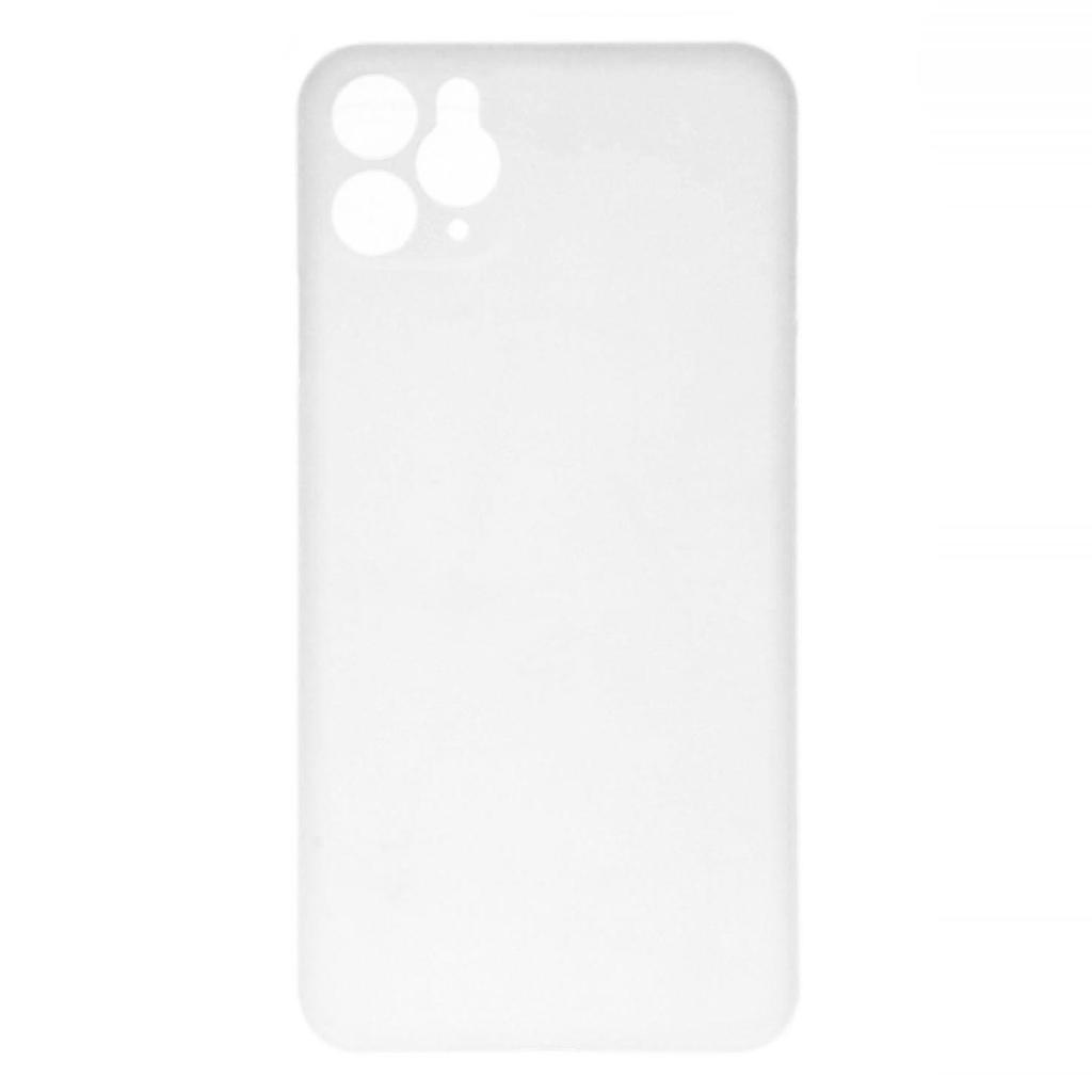 Hard Case für Apple iPhone 11 Pro Max -ID17031 weiß/durchsichtig - neu