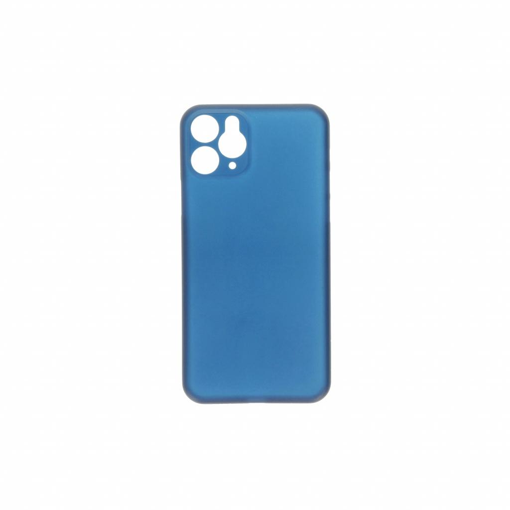 Hard Case für Apple iPhone 11 Pro Max -ID17033 blau/durchsichtig - neu