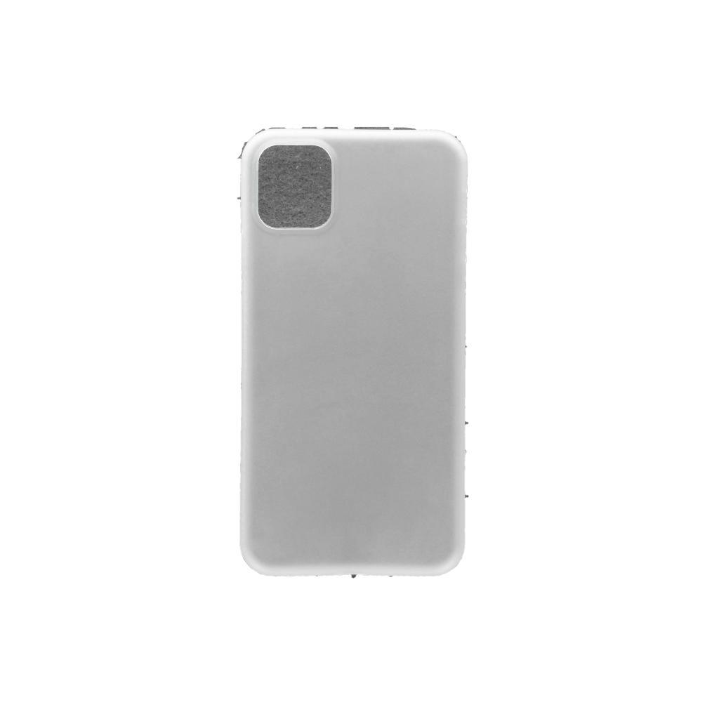 Hard Case für Apple iPhone 11 -ID17035 weiß/durchsichtig - neu