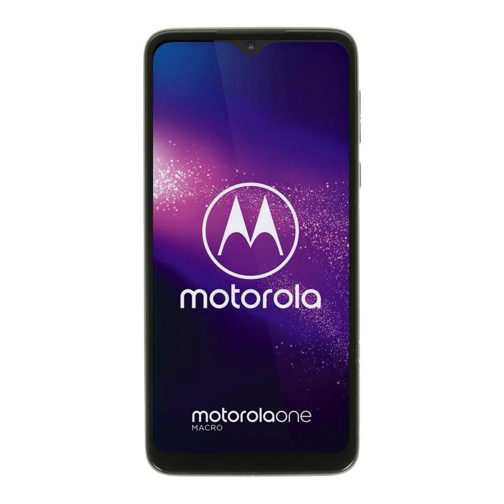 Motorola One Macro 64GB blau - neu