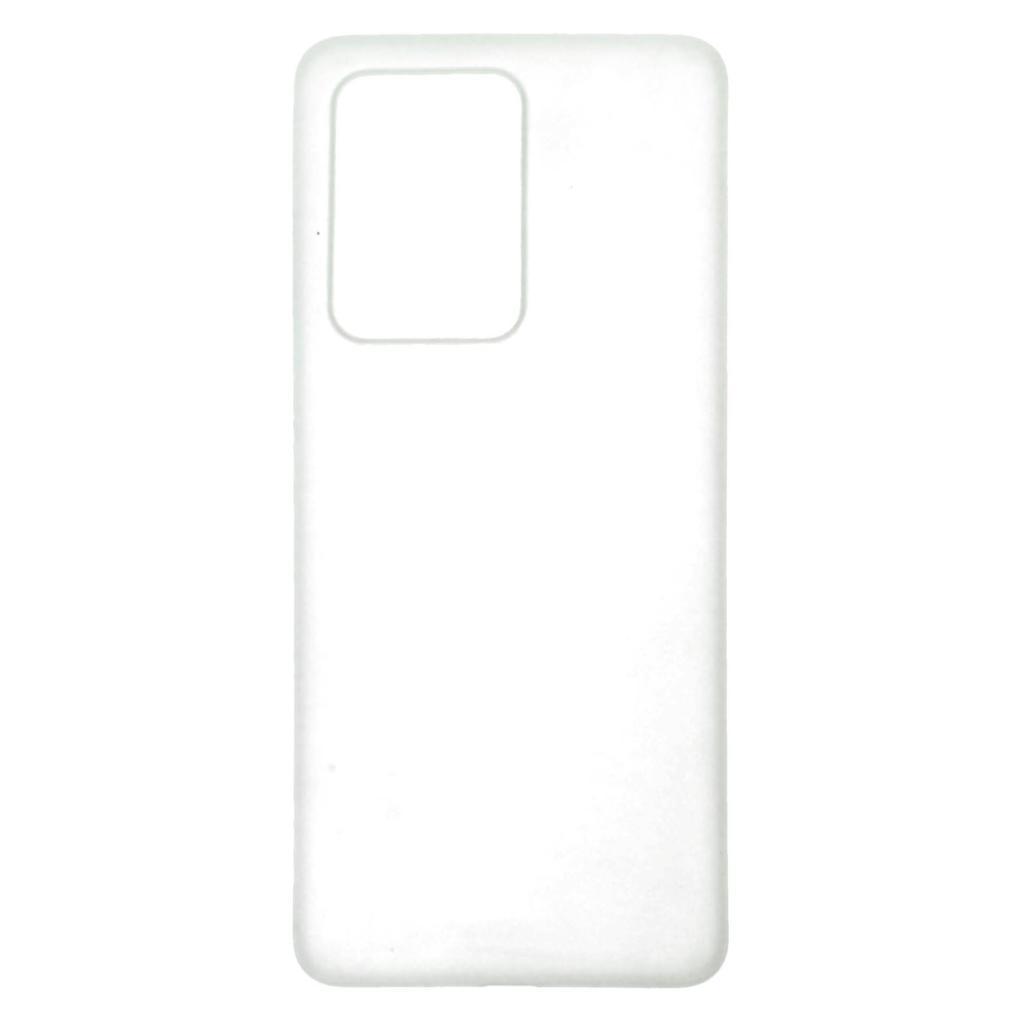 Hard Case für Samsung Galaxy S20 Ultra -ID17546 weiß/durchsichtig - neu