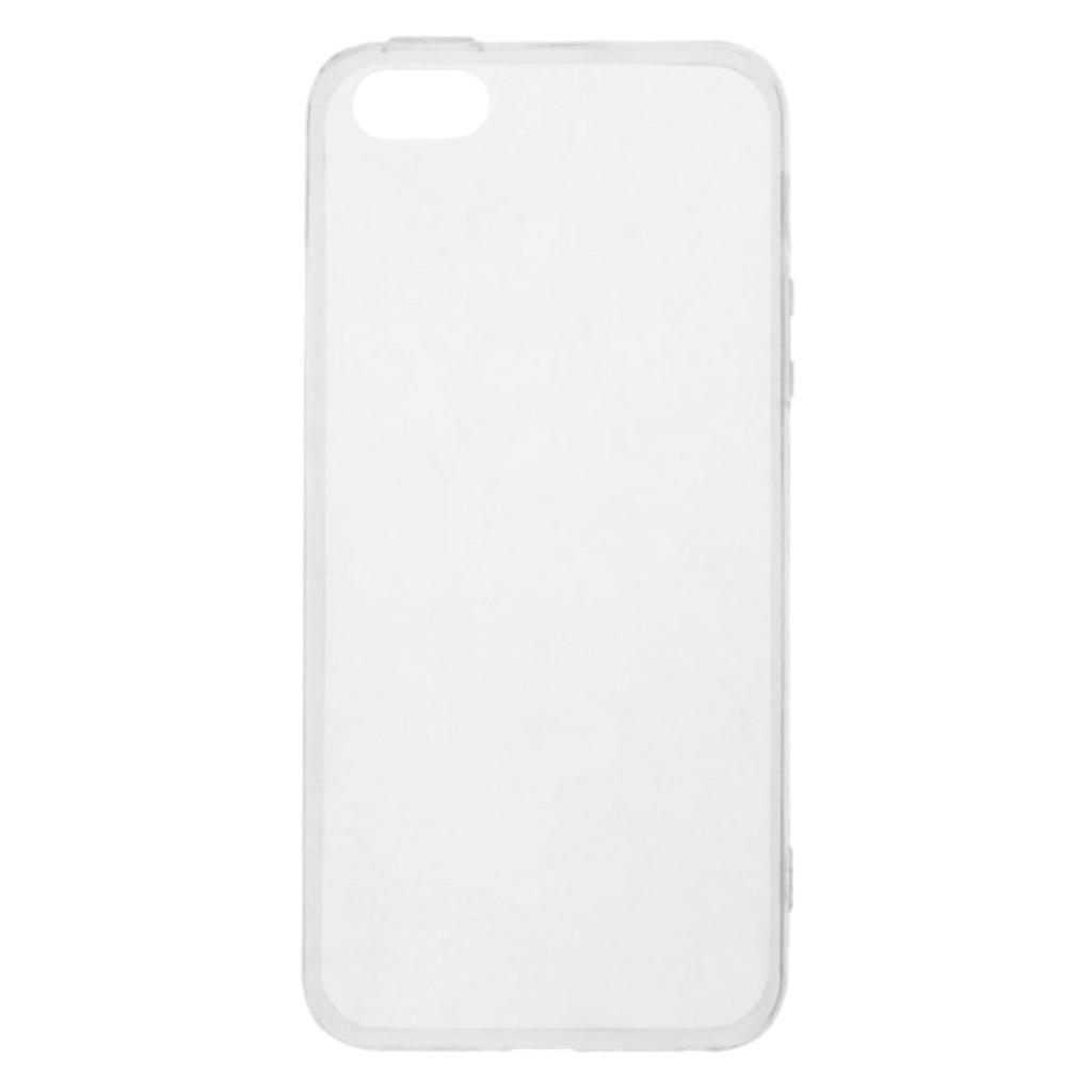Soft Case für für Apple iPhone SE / 5 / 5S -ID17698 durchsichtig - neu