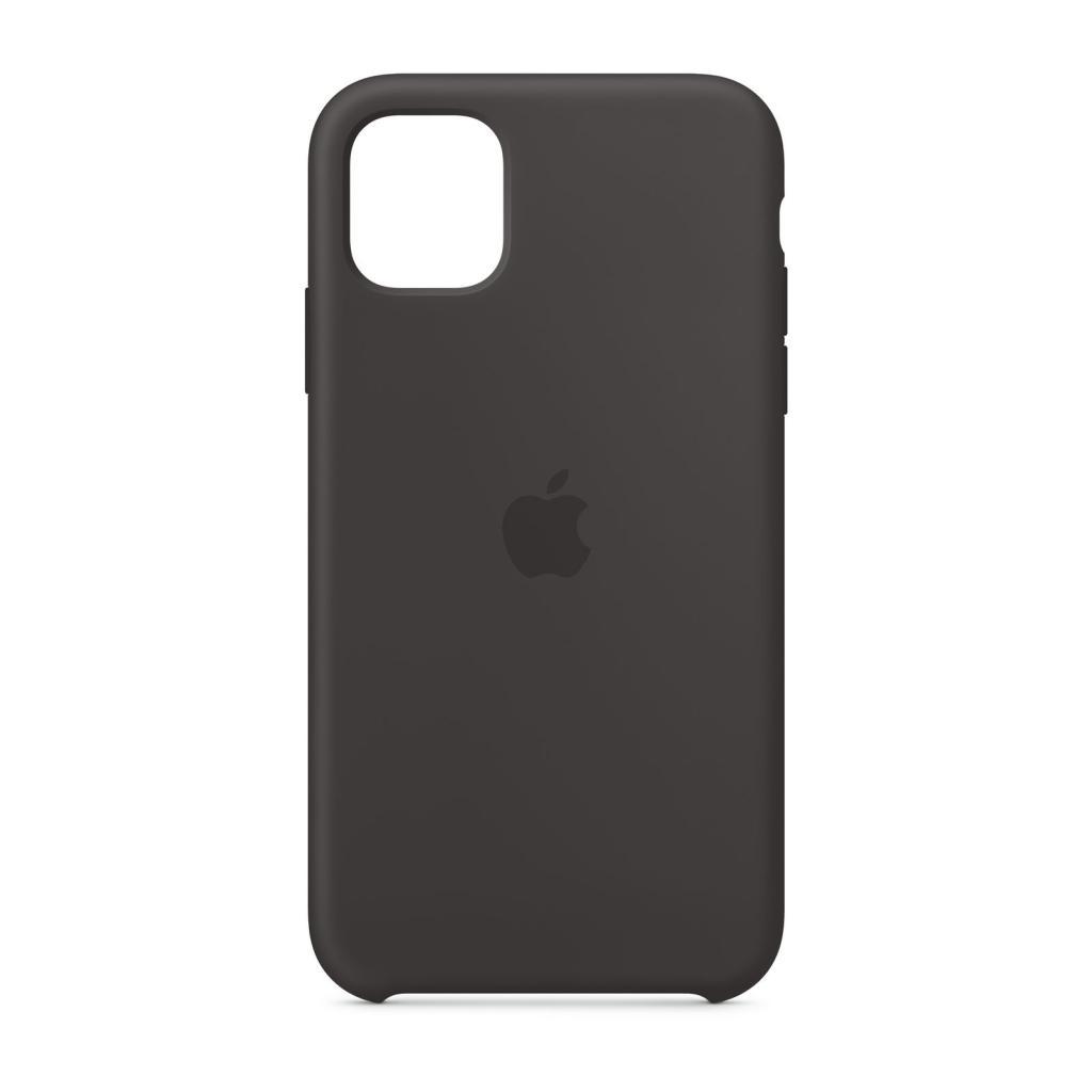 Apple Silikon Case für iPhone 11 (MWVU2ZM/A) -ID17796 schwerz - neu