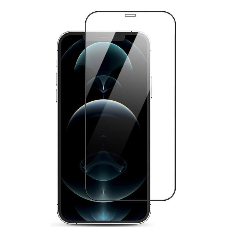 Ultra Panzerglas für Apple iPhone 12 Pro Max -ID18027 schwarz - neu
