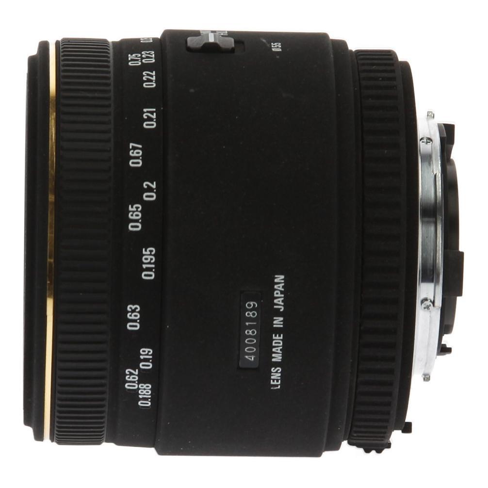 Sigma 50mm 1:2.8 EX DG Macro für Nikon Schwarz - neu