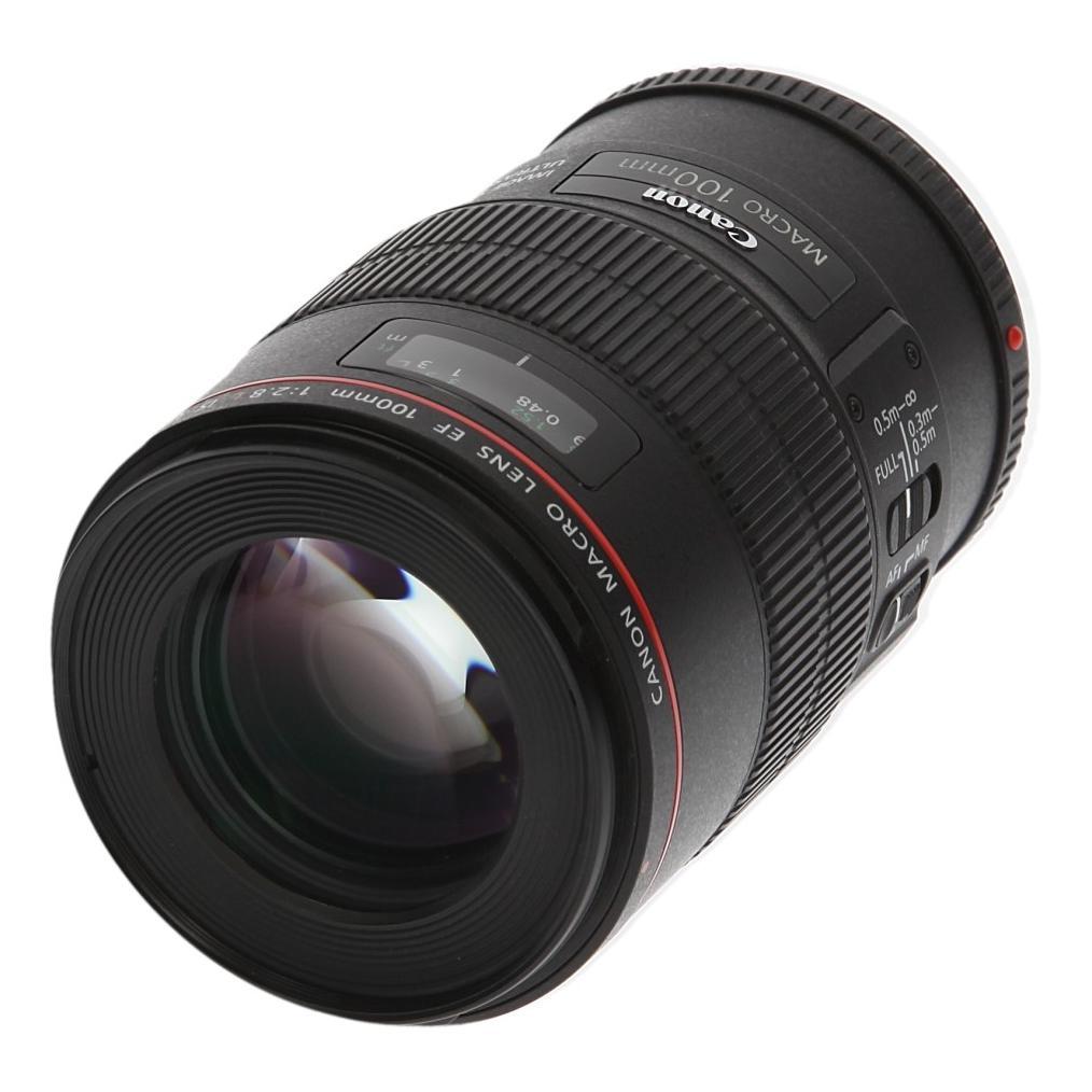 Canon EF 100mm 1:2.8 L IS USM Macro noir - Neuf