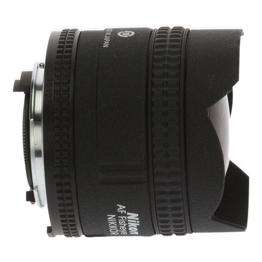 Nikon AF Fisheye-Nikkor 16mm 1:2.8D Schwarz - neu