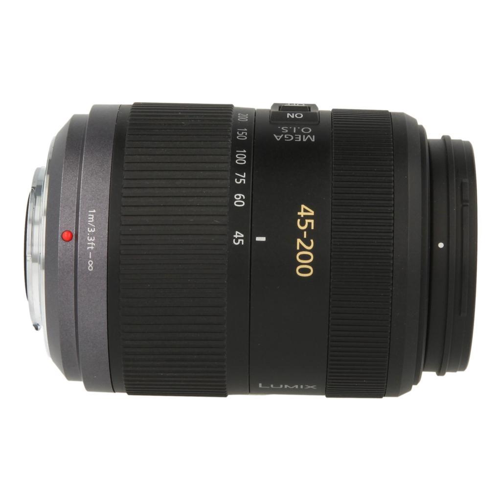 Panasonic Lumix G Vario H-FS045200E 45-200mm F4.0-5.6 Objektiv Schwarz - neu