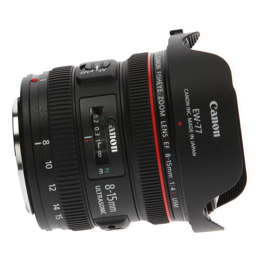 Canon EF 8-15mm 1:4.0 L USM noir - Neuf