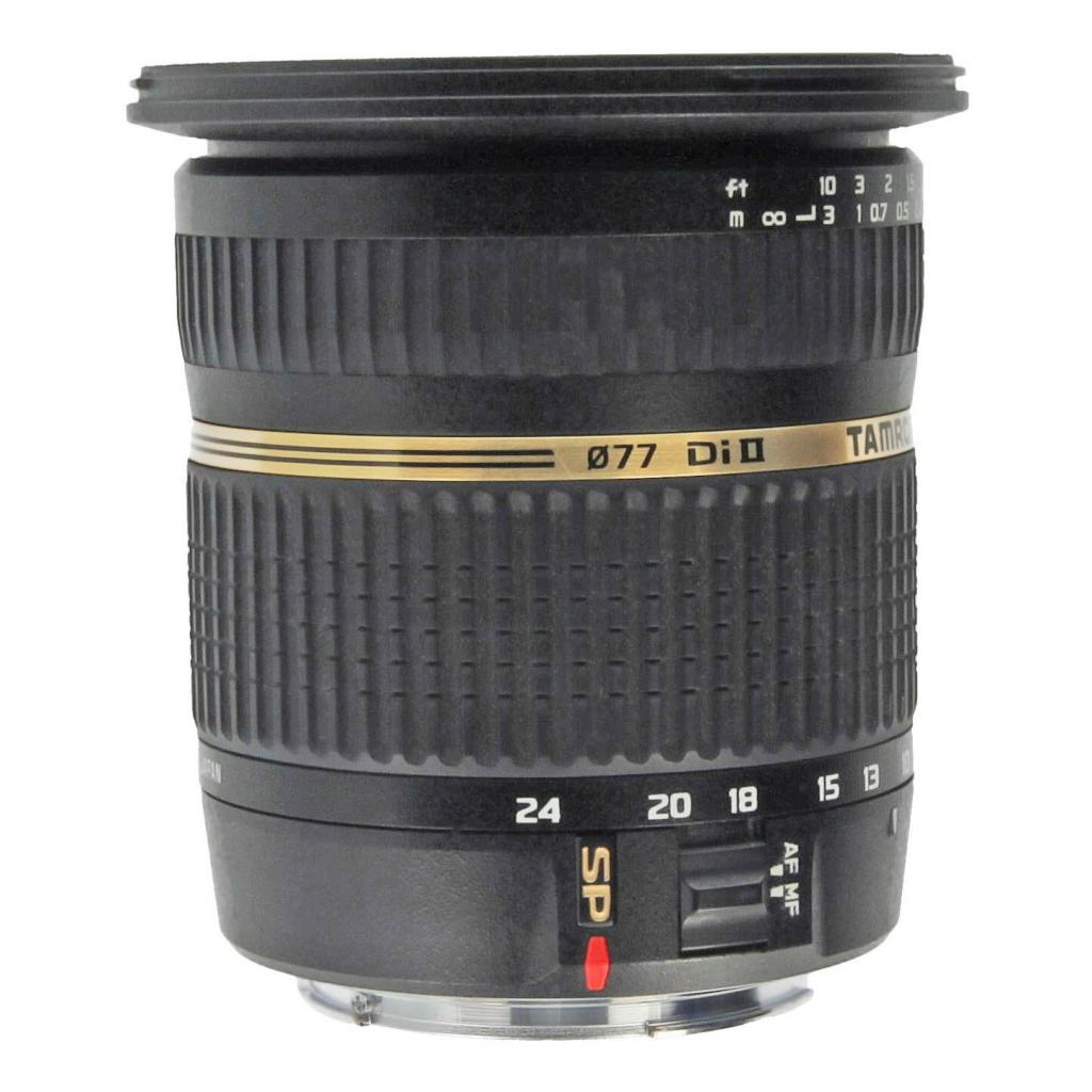 Tamron pour Canon SP B001 10-24mm F3.5-4.5 Di-II LD Aspherical IF noir - Neuf