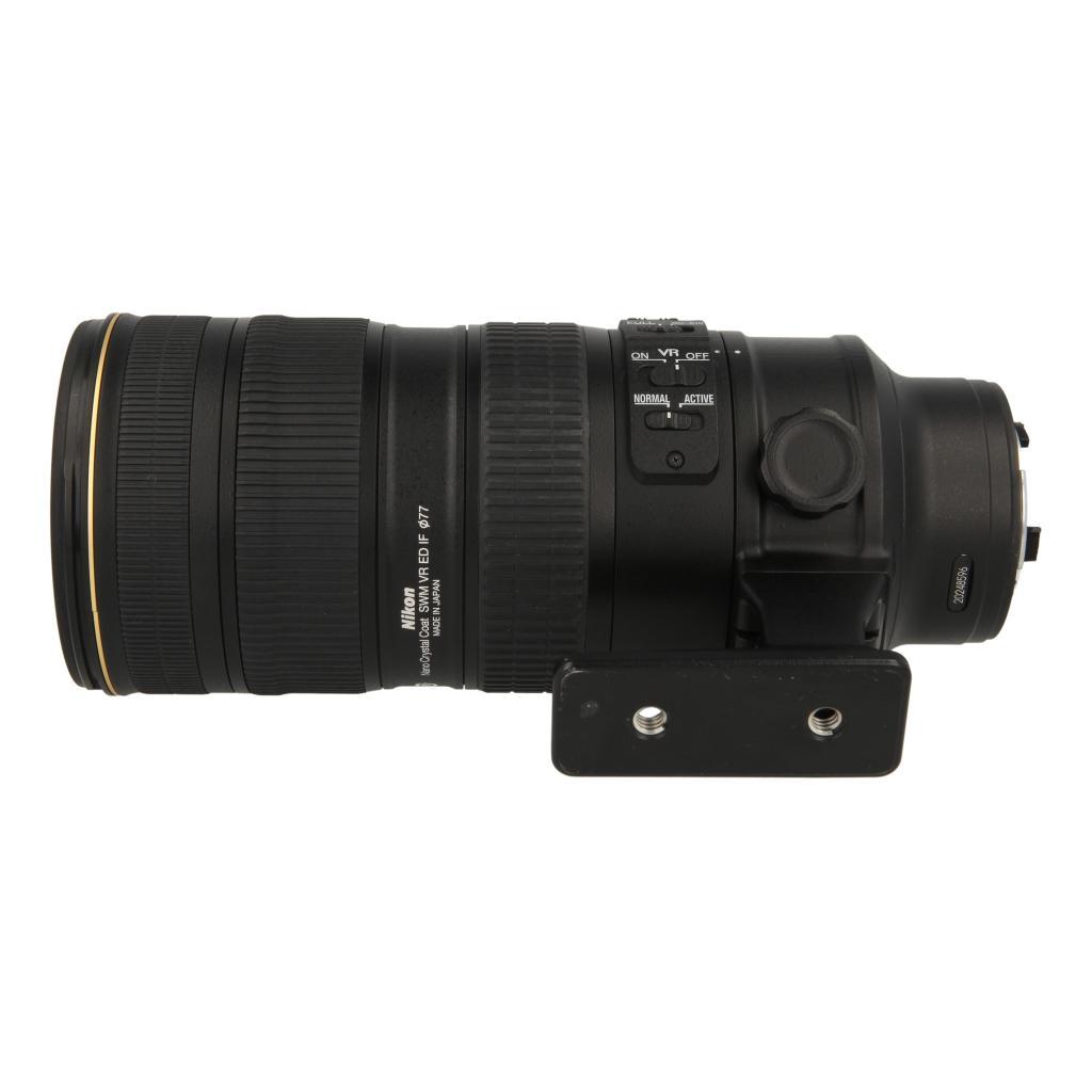Nikon AF-S Nikkor 70-200mm 1:2.8G ED VR II negro - nuevo
