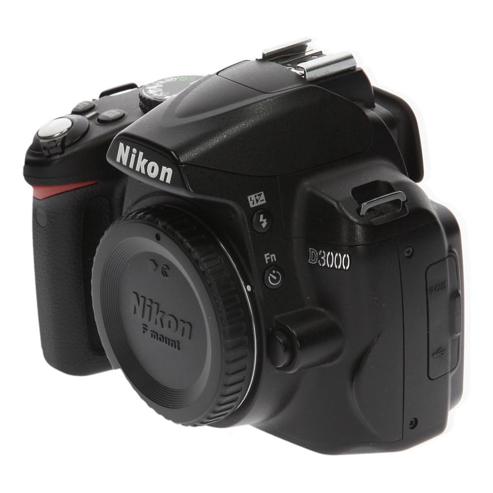 Nikon D3000 negro - nuevo