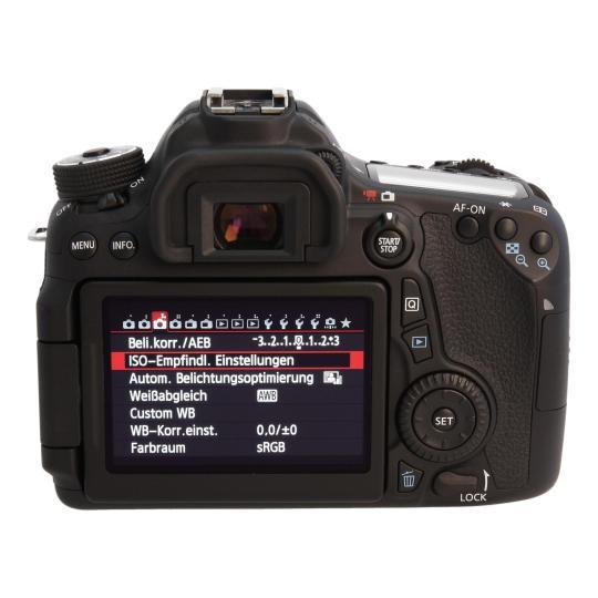 Canon EOS 70D Schwarz sehr gut