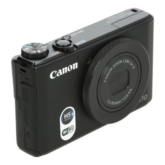 Canon PowerShot S110 Schwarz gut