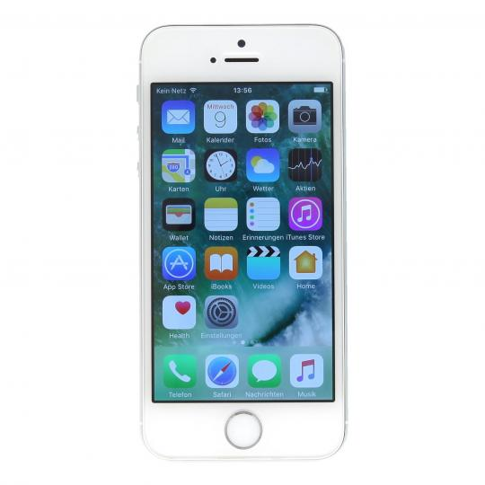 Apple iPhone 5s (A1457) 64 GB Silber gut