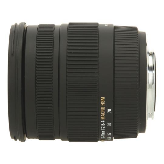 Sigma 17-70 mm 1:2.8-4.0 HSM DC para Sony / Minolta negro buen estado