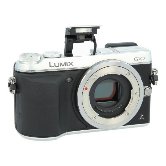 Panasonic Lumix DMC-GX7 Plata buen estado