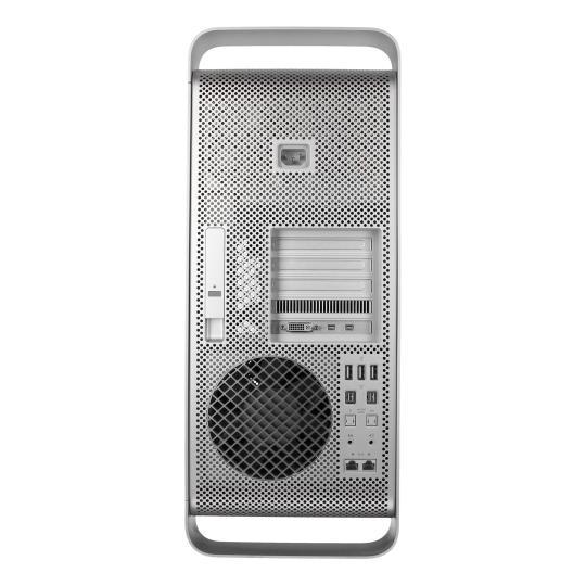 Apple Mac Pro 2012 4-Core (Bloomfield) Quad-Core Intel Xeon 3,2 GHz 640 GB HDD 16 GB silber gut