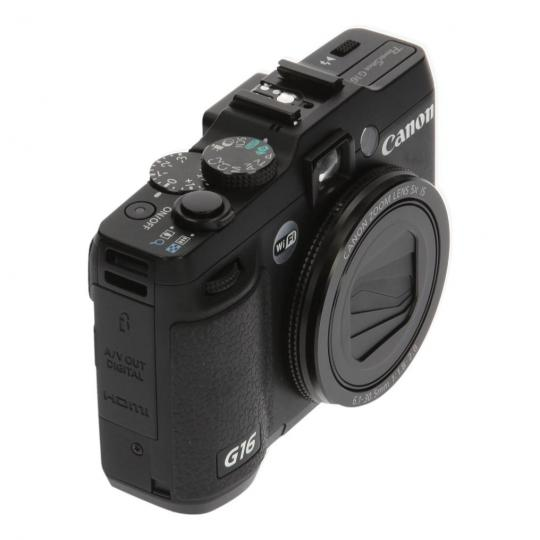 Canon PowerShot G16 Schwarz gut