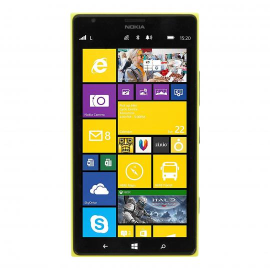 Nokia Lumia 1520 32 Go jaune Comme neuf