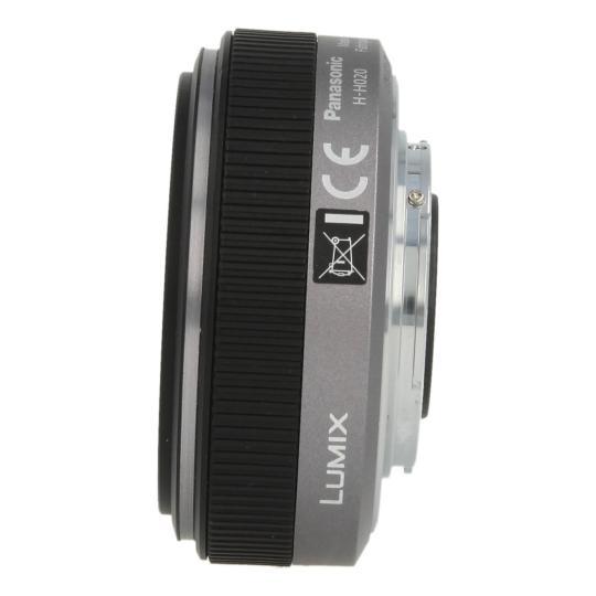 Panasonic 20mm 1:1.7 Lumix G Vario ASPH negro buen estado