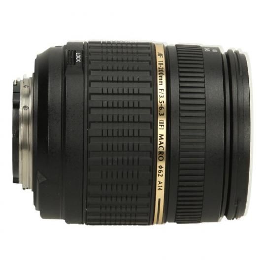 Tamron A14 18-200 mm F3.5-6.3 LD Di-II XR Aspherical AF IF Objetivo para Nikon negro