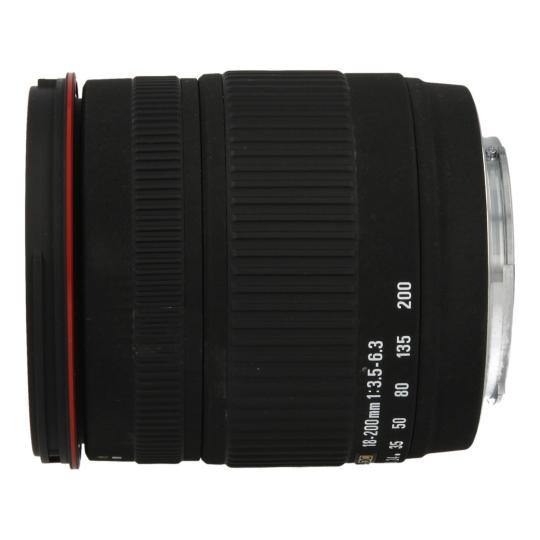 Sigma 18-200 mm 1:3.5-6.3 DC para Sony / Minolta negro buen estado