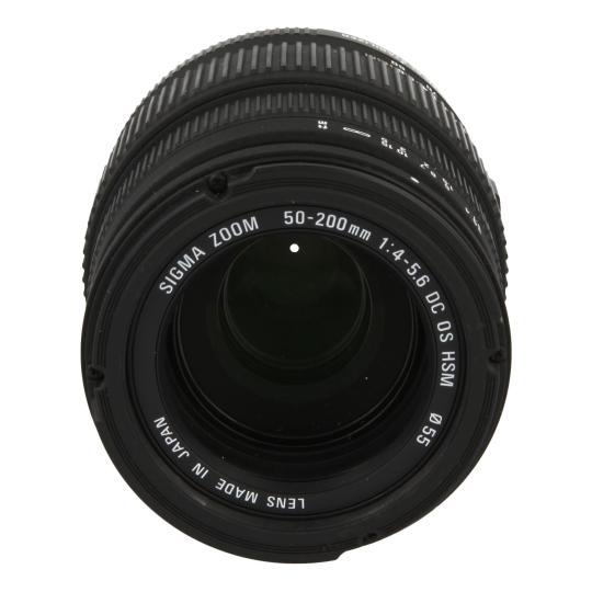 Sigma 50-200mm 1:4.0-5.6 DC OS HSM para Nikon negro como nuevo
