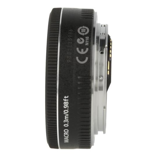 Canon EF 40 mm 1:2.8 STM Schwarz neu