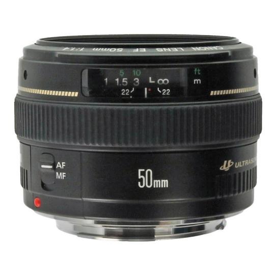 Canon EF 50mm 1:1.4 USM Schwarz sehr gut