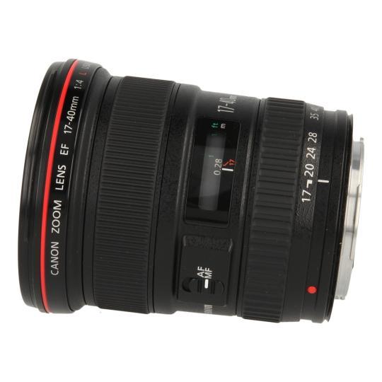 Canon 17-40mm 1:4 EF L USM Schwarz gut