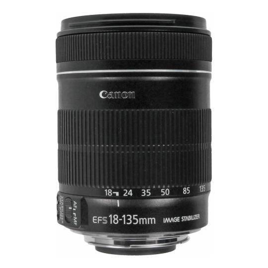 Canon EF-S 18-135mm 1:3.5-5.6 IS Schwarz gut