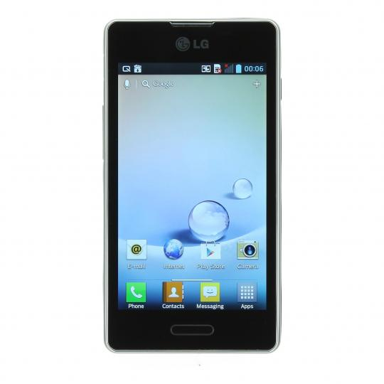 LG E460 Optimus L5 II 4 GB Schwarz gut