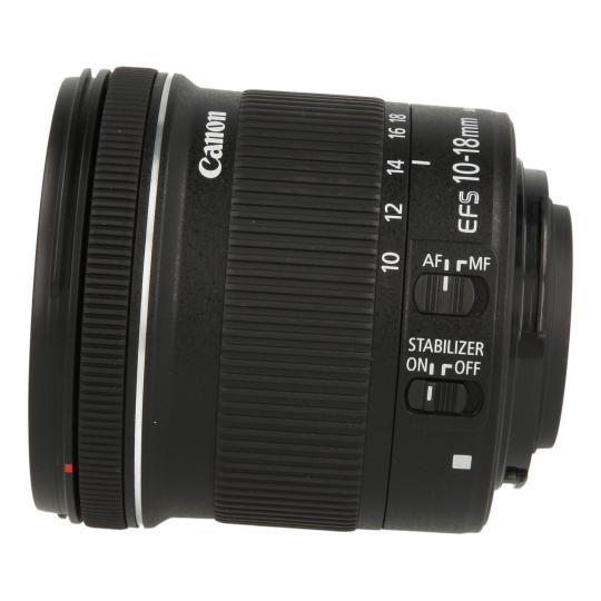 Canon EF-S 10-18mm_1:4.5-5.6 IS STM Schwarz gut