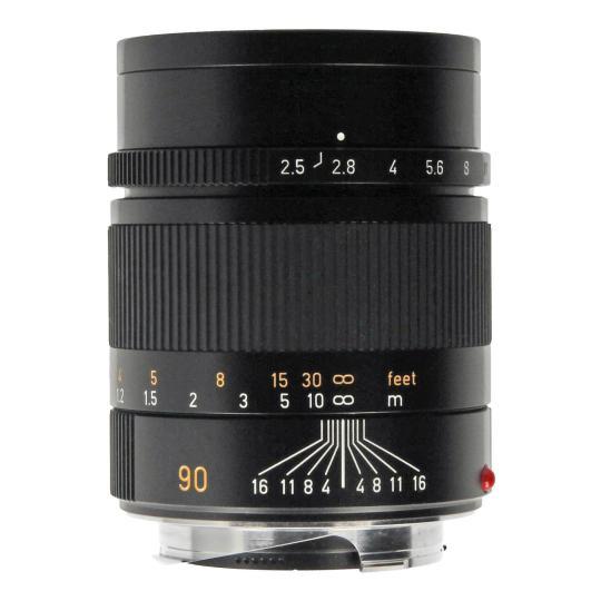 Leica 90mm 1:2.5 Summarit-M noir Bon