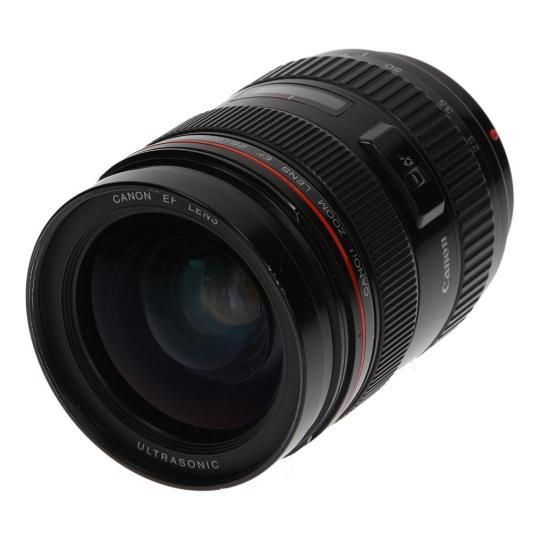 Canon 28-70mm 1:2.8 EF L USM schwarz gut