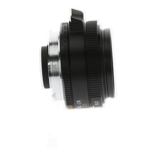 Leica 28mm 1:2.8 Elmarit-M ASPH noir Bon