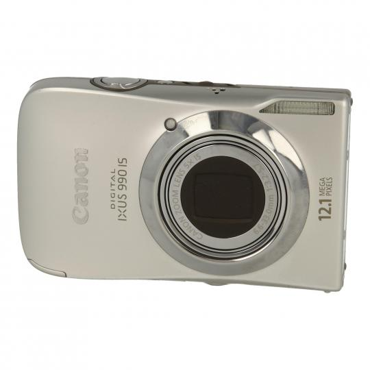 Canon IXUS 990 IS plata como nuevo