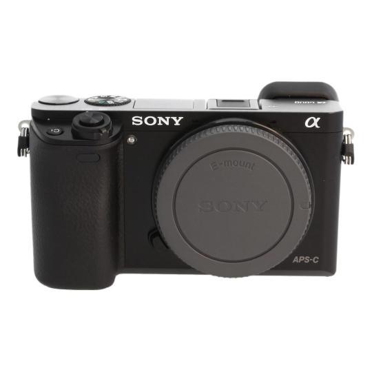 Sony Alpha 6000 / ILCE-6000 Schwarz gut