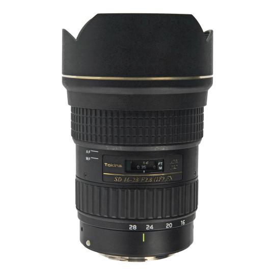 Tokina 16-28mm 1:2.8 AT-X Pro FX para Canon negro buen estado